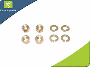 4 Brass Nut Washers Kit For Manifold Mounting Ford 2n 8n 9n Tractor Enj80 0004