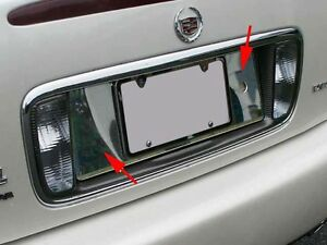 Cadillac Deville 2000 2001 2002 2003 2004 2005 Chrome License Panel Trim