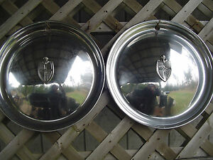 1949 1950 Lincoln Continental Mark Series Premier Town Car Hubcaps Wheel Covers