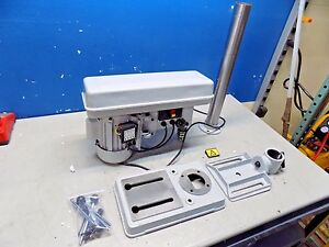 Step Pulley Control Bench Drill Press 10 Swing