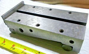 6 1 8 Long X 3 Wide X 1 1 2 High Sine Bar With 1 4 20 Holes And T nut Slot