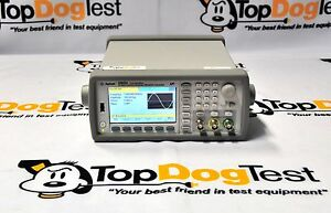 Hp Agilent Keysight 33522a 400 Function arbitrary Waveform Generator 30mhz