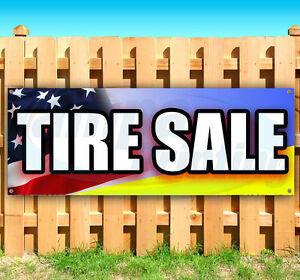 Tire Sale Advertising Vinyl Banner Flag Sign Many Sizes Available Usa
