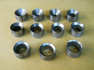Hardinge Collet Pads 11 Sets Sold As A Group