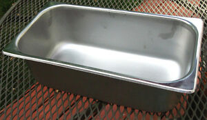 Steam Table Pan Size 1 3 Depth 4 Nsf