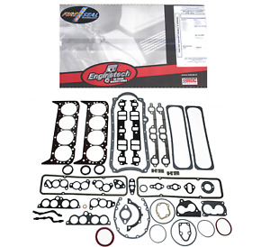 Sbc Small Block Chevy Full Complete Gasket Set 5 7l 350 86 95 1 Pc Rear Seal