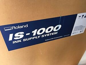 Roland Is 1000 Ink Supply System Bulk For Sj1000 And Sj1045