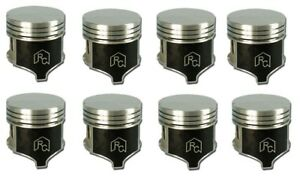 Dodge Chrysler Plymouth 413 1959 65 Car Only Flat Top Cast Pistons Set 8 030