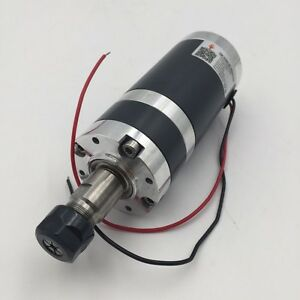 Dc Spindle Motor Er11 Er16 100 150 180 300 400 450 500 600w Brushed Cnc Router