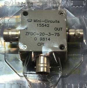 Zfdc 20 3 75 Directional Coupler 10 250mhz