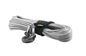 92 Foot 15000 Pound Xrc Synthetic Winch Rope Smittybilt For Jeep Truck 4x4 97715