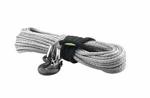 88 Foot 12000 Pound Xrc Synthetic Winch Rope Smittybilt For Jeep Truck 4x4 97712