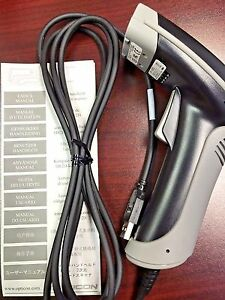 New In The Box Opticon Opi 2002 Point Of Sale Barcode Scanner Black