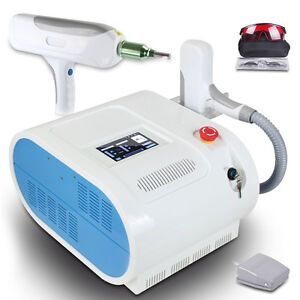 Red Target Q Switch Nd Yag Laser Tattoo Removal Eyebrow Callus Removal Machine