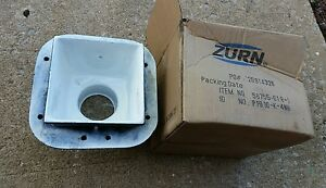 Zurn Cast Iron Porcelain Floor Sink P1910 k 4nh 56755