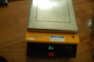 Sartorius Preparative Prep Pilot Lab Scale Digital Balance 30 Kg 3826 Mp8 1