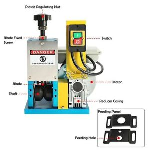 Portable Electric Wire Stripping Machine Metal Scrap Cable Stripper Recycle Tool