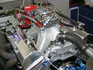 Chevy 434 Sbc Stroker Engine 660 Hp Afr 220 Cnc Heads 10 5 Crate Motor