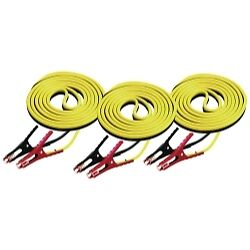 K Tool 74505 3 Battery Booster Cables 12 8 Gauge 400 Amp 3 Pk