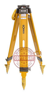 Sokkia Heavy duty Wood Tripod surveying trimble topcon seco gps robotic leica