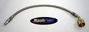 12ft Stainless Steel Liquid Propane Lpg Hose Tank Connection 144 Forklift Fuel