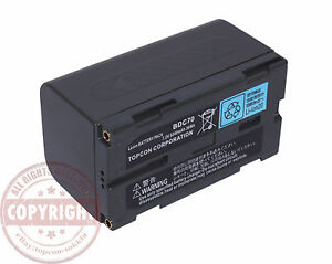 Bdc 70 Battery For Sokkia topcon Total Station gps srx grx robotic hiper V