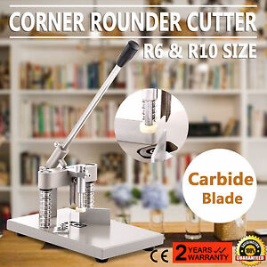 Corner Rounder Cutter Heavy Duty Pvc paper R10 Documents Certificates Notepads