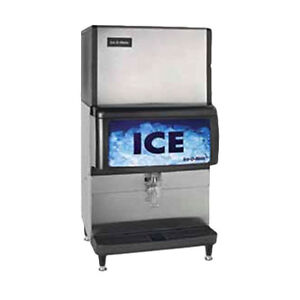 Ice o matic Iod200 200lb Storage Capacity Ice Dispenser And Bin