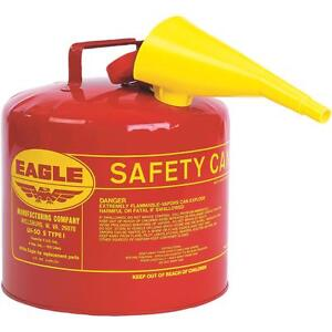 Eagle Red 5gal Gas Safety Can
