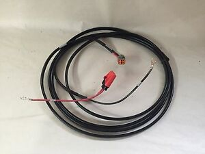 Trimble Cfx750 fm750 fmx fm1000 Bottom Power Cord 67258