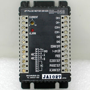 Rorze Rd 023 2 Phase Pulse Stepping Motor Driver 3a Microstep Stepper