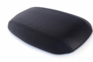 Console Armrest Leather Synthetic Cover For Ford Mustang 94 04 Black