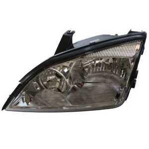 Left Driver Side Head Lamp Assembly Without Bulb Fits 2005 2006 2007 Ford Focus