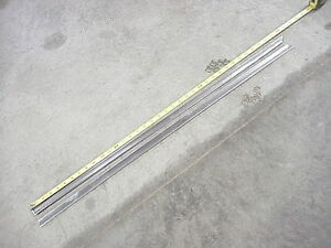 1957 57 1956 56 Lincoln Premiere Capri Beltline Door Trim Moulding Window Sill