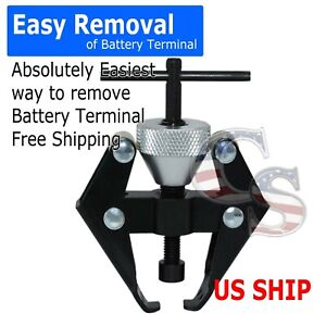 Car Battery R2 Terminal Bearing Wiper Arm Removal Remover Puller Tool 6 28mm
