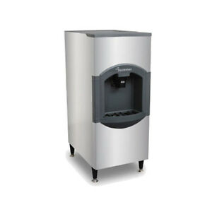 Scotsman Hd30b 6 180 Storage Capacity Floor Model Hotel Ice Dispenser