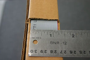 100 Belden 9l30050 50 Conductor Ribbon Cable 30 025 40 Cond Per Inch Nos