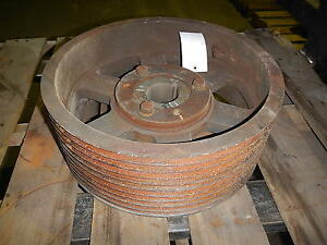 10 Groove V Belt Pulley Sheave 18 75 Od