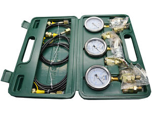 Hydraulic Pressure Test Kit With A Toolkit 12 Tester Coupling 3 Line 3 Meter New