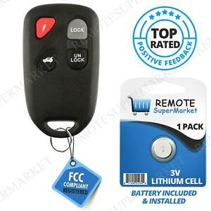 Replacement For Mazda 2007 2008 2009 2010 2011 3 Remote Car Keyless Entry Fob