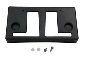 2016 Nissan Titan Xd Front Bumper License Plate Mount Bracket Oem New