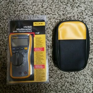 Fluke 116 Meter With Fluke Leads And Soft Case All Brand New 117 115
