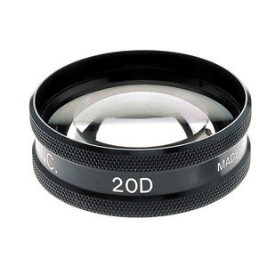 Top Quality 20d Double Aspheric 20d Ophthalmic Diagnostic Lens By Brand Bexco