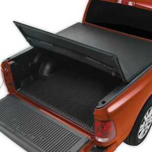 6 5ft Bed Truck Black Soft Trifold Tonneau Cover Fits 04 14 Ford F 150