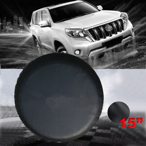 Universal15 Inch Car Spare Wheel Tire Cover For Rv Truck Suv Camper Wheelcover