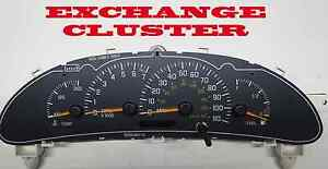 2000 To 2005 Pontiac Sunfire Instrument Cluster With Tach Rebuilt