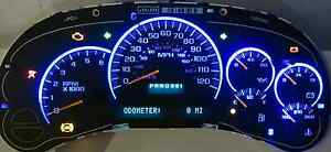 Chevy Gmc Truck Tahoe Suv Silverado Sierra Blue Leds Cluster Exchange Any Part