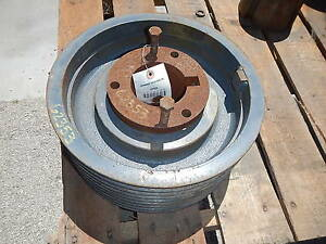 8 Groove V Belt Pulley Sheave 13 1875 Od
