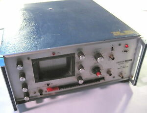 Hickok 5001 20mhz Oscilloscope Powers On Cracked Plastics