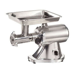 Adcraft Mg 1 5 22 Attachment Hub Electric Meat Grinder